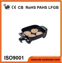 Electric aluminum egg deep fry pan