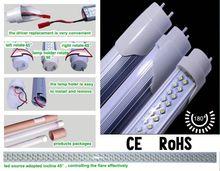 compatiable fluorescent ballast T8 led tube,led ring tube light,3 years warranty led t8 tube