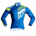 Pro equipo pro del club 3D anatómico de corte de alta mano de obra 2XS-5XL sublimación azul maillot de la montaña