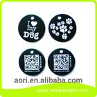 Aluminum metal school dog tag