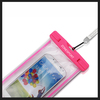 2014 Universal waterproof bag for phone,Colorful Piece and Transparent Piece,High quality plastic waterproof bag