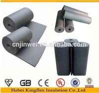 NBR/PVC elastomeric black heat rubber foam insulation tube/pipe/sleeve for real estate construction