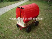 Kids wooden wagon bollergen hand cart for kids TC4203B