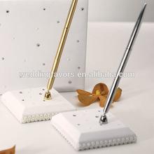 Crystal and Pearl Designer Pen Base