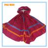 Cheap pashmina long custom plain viscose scarf