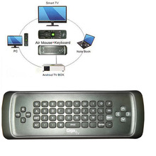 IR air mouse fly mouse remote control with keyboard for smart tv