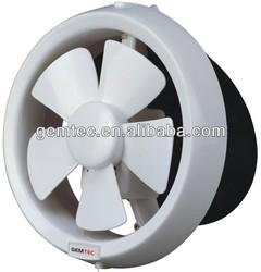 6 inch /150mm ,PP Material, Bathroom Window Mounted Exhaust fan