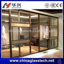 CE Certificate Heat Resistant Double Glazed Glass Standard Size Aluminium Door And Windows