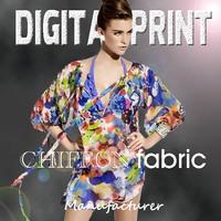 garment digital damask print cotton fabric -YC0716-1