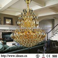 Light Crystal Crystal Kristal multi colored glass chandelier C9167