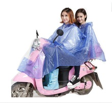 Good quality full version of the print PVC poncho