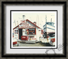 J J Lobster ship seaside paintings modern decoration picture