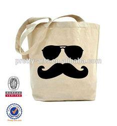 custom-made cotton canvas tote bag