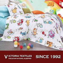 children/kids single duvet cover quilt cover bedding sets cartoon print