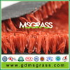 100%polyester carpet for Red Tennis/ running track synthetic turf