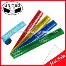 WOW!!! PVC slap bracelets as promotional gifts