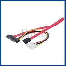 15 & 7 Pin Power Data Transfer to 4-Pin IDE SATA Cable Adapter Cool CPU