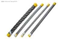 Elec. galvanized rope 6x19Fi+steel core
