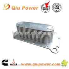 Engine oil cooler Cummins 6CT oil cooler core