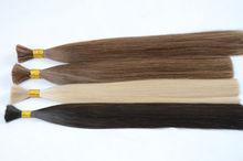 Wolesale human hair bulk , factory price bulk human hair kilogram