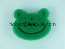 the frog bath foam sponge