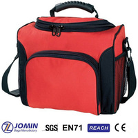 red shoulder handy heavy duty cooler bag for party
