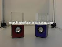 Lit-up Crystal USB Speaker