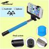 aluminum selfie stick anti-shock selfie stick pc+silicone case for samsung galaxy note 3