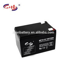 12v Voltage deep cycle battery 12V12Ah battery ups