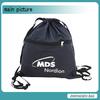 wholesale black drawstring bag for leisure, sport,outdoor