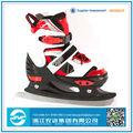 venta al por mayor 2014 suave ajustable de patinaje sobre hielo zapatos