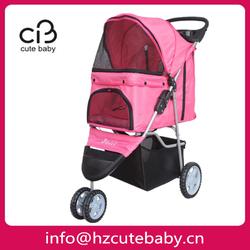 three wheels dog stroller