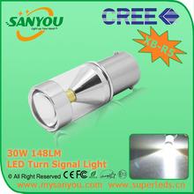 S25 7507 LED LAMP AUTO,PY21W LED CAR,30W CREE HIGH POWER BAU15S LED