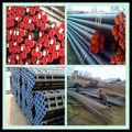 Asme b36.10m 6 M tubo de tubo de acero galvanizado por efecto invernadero tubería, De acero al carbono o PE