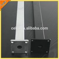 Custom-made fence pole steel gate pole