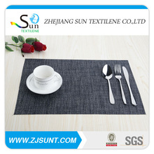 Made in China fashion any shape cotton table mat