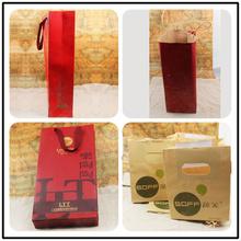 contemporary brown kraft paper bag paper handle with self adhesive seal
