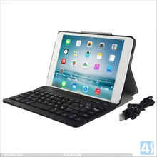 Folio Stand Bluetooth Keyboard Case for iPad Mini 2 P-APPIPDM2PUKB001