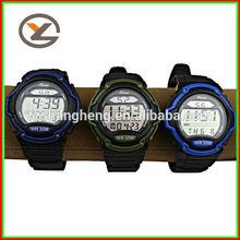 Charm, Auto Date,Chronograph,Waterproof,digital sports watch