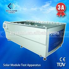AM1.5 1000w/m2 CE ISO solar simulator pv test / solar panel flash test with 2000*1200mm /5w~300w effective test area