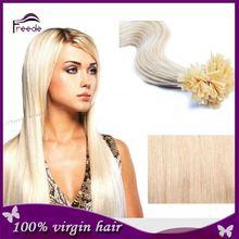 AAAAAA grade Hair Grade and Yes Virgin Hair double drawn ombre keratin u tip hair extensions