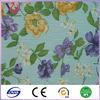 nylon spandex fabric flower pattern bead embroidered fabric