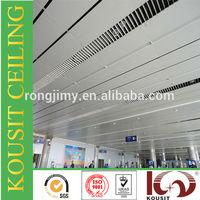 China manufacturer modeling aluminium roof false ceiling