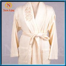 women luxury fleece bathrobe