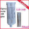 High temperature resistance epoxy resin glue A B component for frosted glass furniture appliances adhesive repair