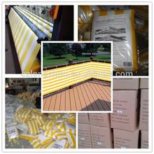 Polietileno de alta densidad de marfil/tan/marrón/gris/blanco cerca de privacidad de pantalla balcón baratos para los muebles de la cubierta, balcón, balcón del patio de la cubierta