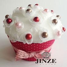 Cupcake shape small retail box packaging