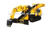 mining haggloder/mucking haggloader/ wheel haggloader tunneling construction