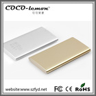 China made metal case 5000mAh power bank/polymer charger/travel battery for smartphones