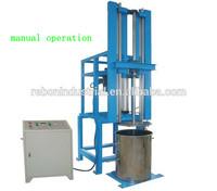 manual mixing pu foam making machine